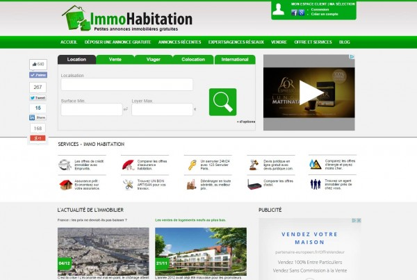 IMMOHABITATION.COM