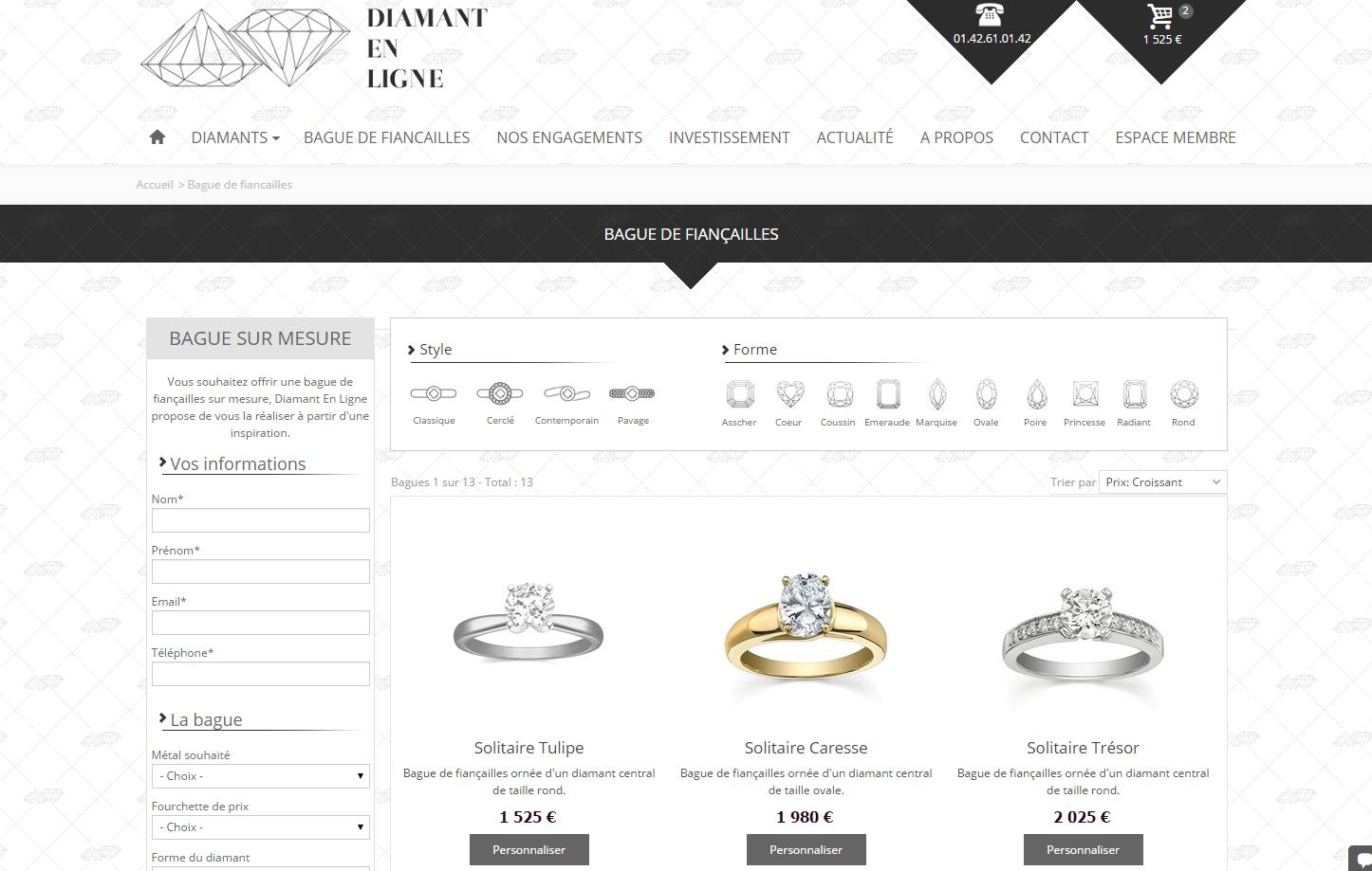 Diamant-En-Ligne