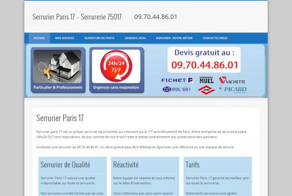 SERRURIER-PARIS17.EU