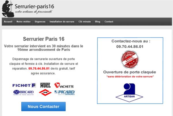 SERRURIER-PARIS16.EU
