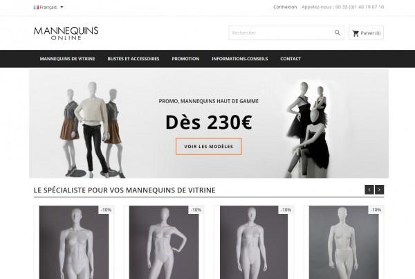 Mannequins-online.com : Le spécialiste du mannequin de vitrine